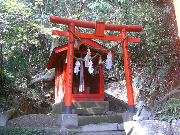 Stille Shinto shrine