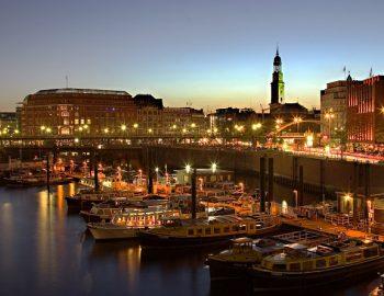Hamburg per fiets