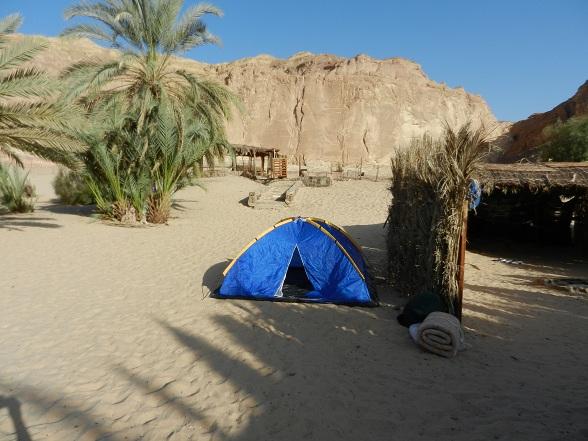 Tentje in bedoeïenenkamp