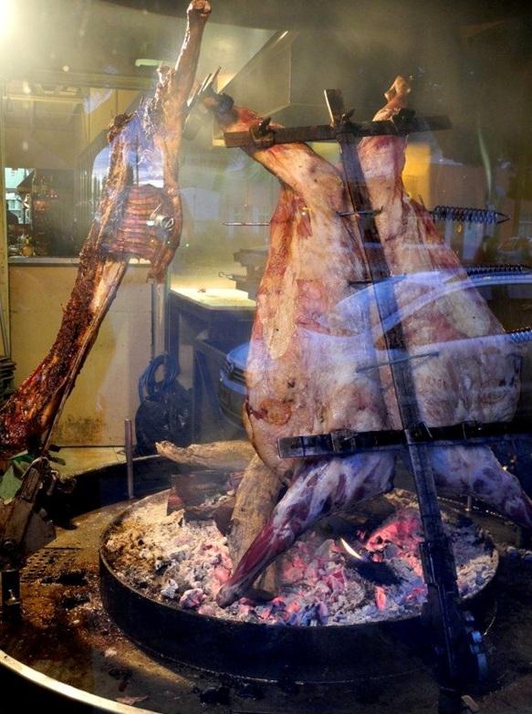 Een typische Argentijnse asado