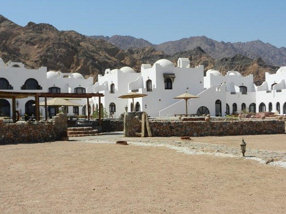 Hotel Daniela Village in Dahab, Egypte