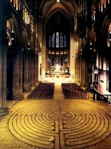 Labyrinth Kathedraal van Chartres