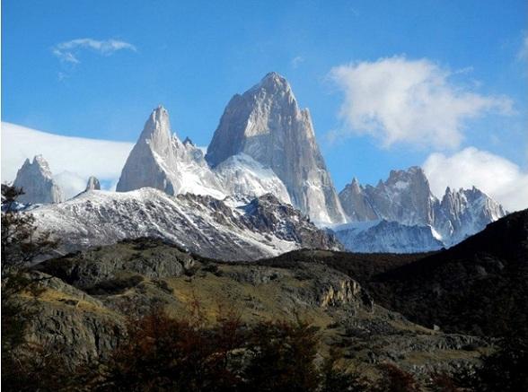 Mount Fitzroy in Parque Nacional Los Glaciares