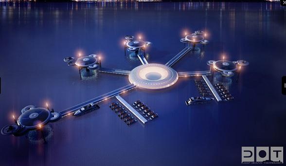 Spectaculair onderwaterhotel in Dubai