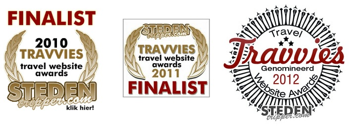 Travel website awards
