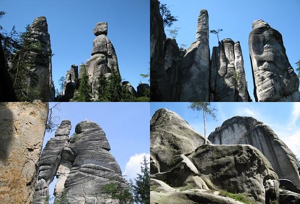 Bijzondere rotsfiguren