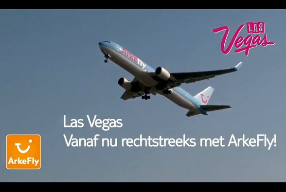 ArkeFly rechtstreeks naar Las Vegas