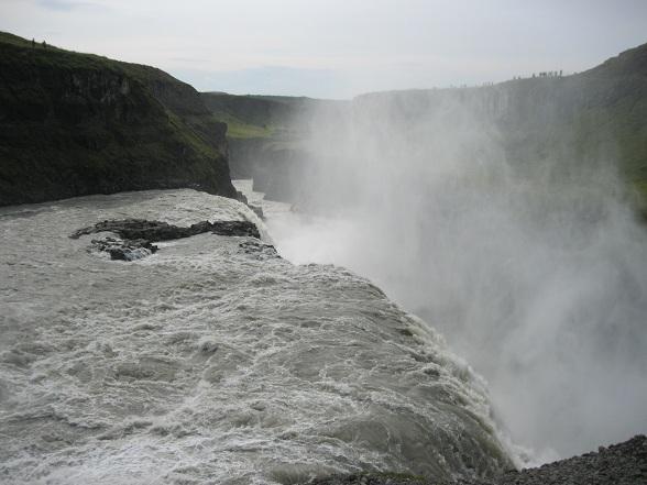 Gulfoss waterval, onderdeel van de Gouden Cirkel