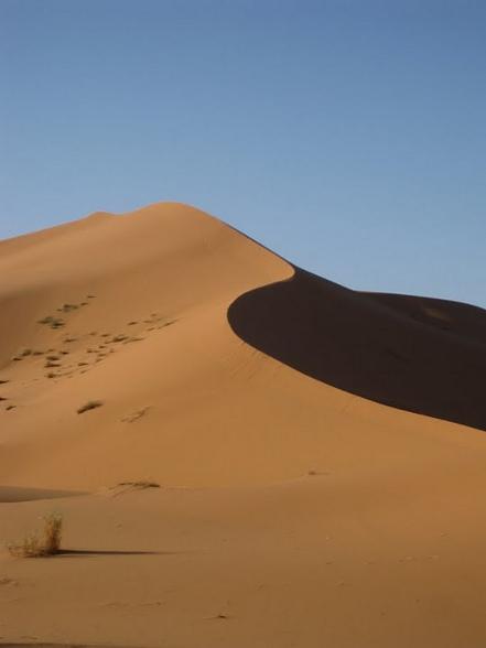 Een echte zandheuvel