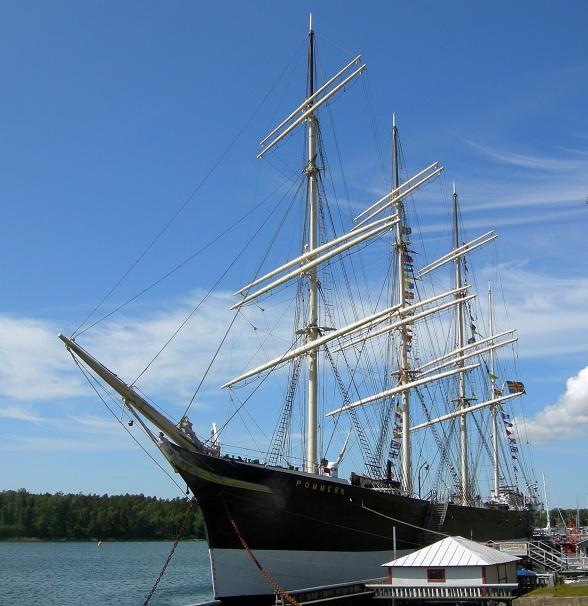 museumschip Pommern