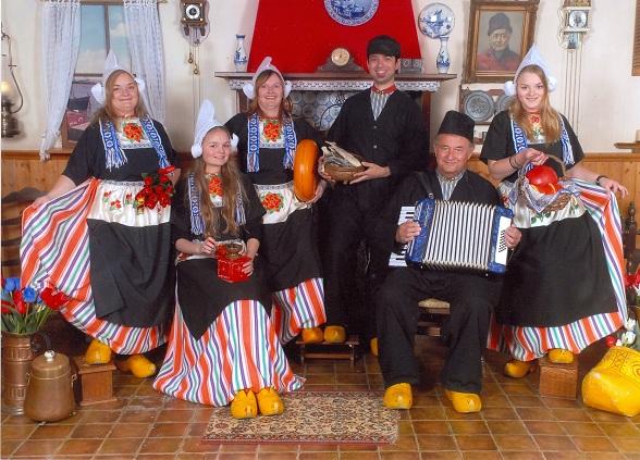 Traditionele Hollandse vissersdorpen als Volendam