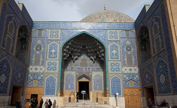 Azerbaijan museum en de blauwe moskee