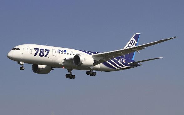 Boeing 787 Dreamliner van ANA