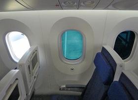 Passagierscomfort in de Boeing 787 Dreamliner