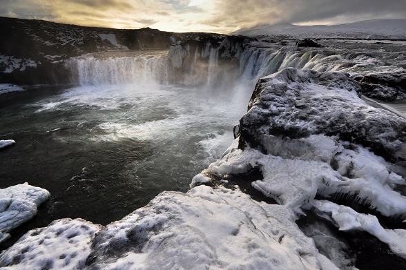 Godafoss waterval [fotocredits: Jos Huberts]