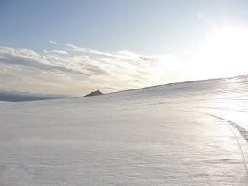 Langjokull gletsjer IJsland