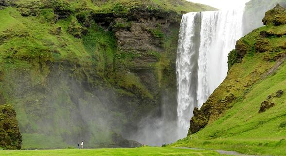 Skogafoss waterval