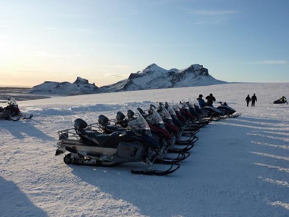 Sneeuwscootersafari IJsland