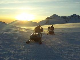 Sneeuwscootersafari Langjokull
