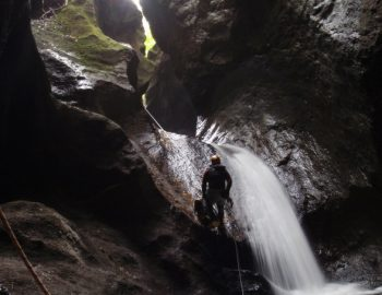 Canyoning in de Azoren