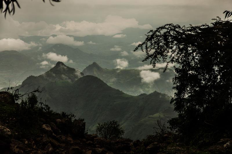 berglandschap ethiopie
