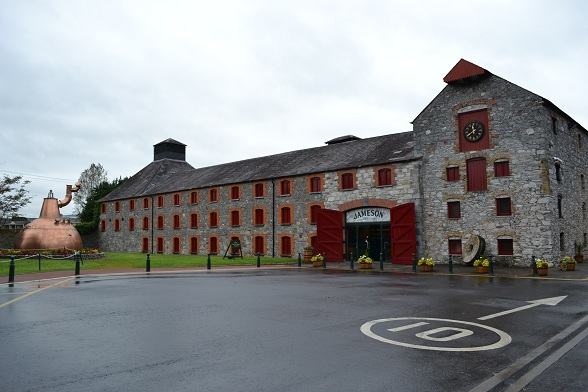 Old Distillery van Jameson in Midleton