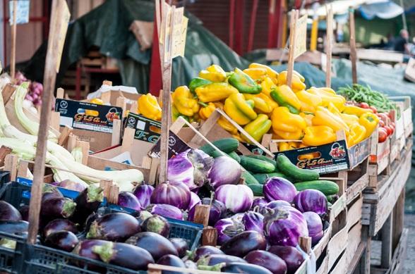 De belangrijkste markt van Palermo, de Mercato della Vucciria