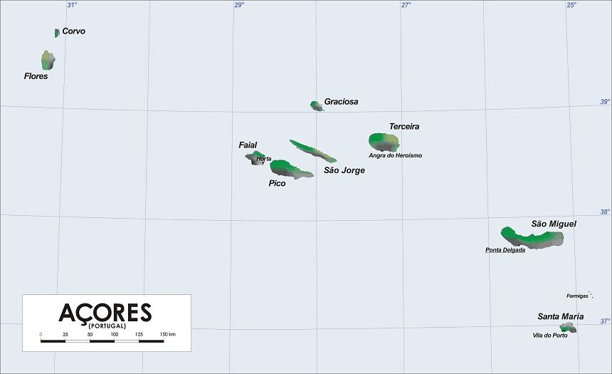 Archipel Azoren