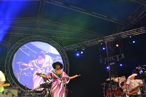 Jill Scott, Curaçao North Sea Jazz Festival