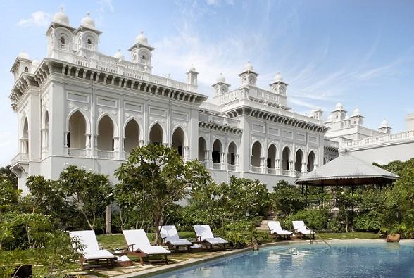 Hyderabad, India: Taj Falaknuma Palace
