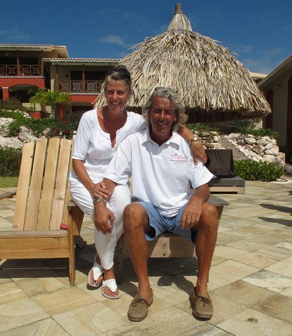 Annemarie en Marcel, La Maya Beach, Curacao