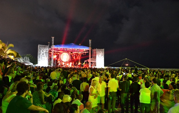 Sir Duke Stage Curaçao North Sea Jazz Festival