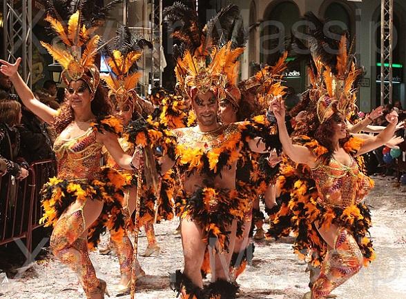Carnaval in Sitges, Spanje