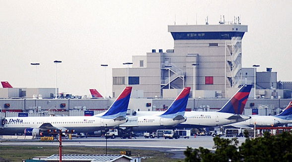 Delta Airlines op Atlanta Airport