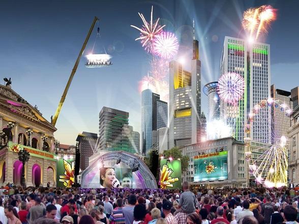 Wolkenkrabber-Festival