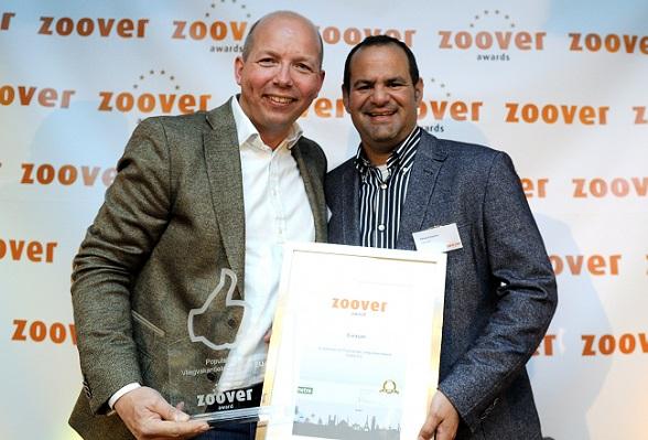 Onder Nederlandse toeristen is Curaçao het populairste vakantieland, zo blijkt uit de Zoover Awards op 22 april 2013 in Zeist, foto van Sander Chamid