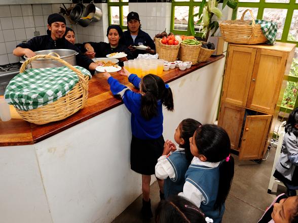 Stichting Niños: Eten voor de kinderen