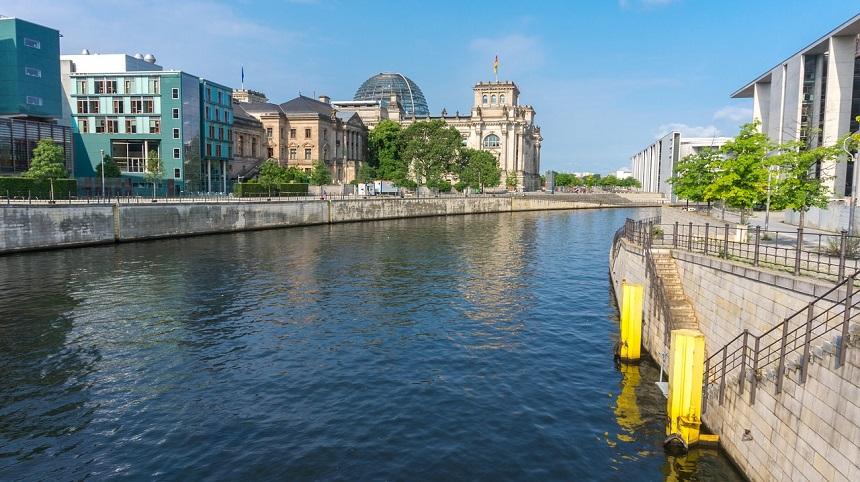 Museum eiland in Berlijn