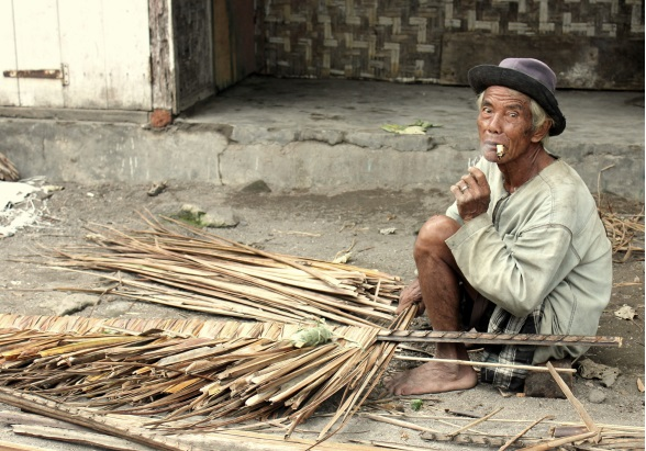 Oude man Lombok