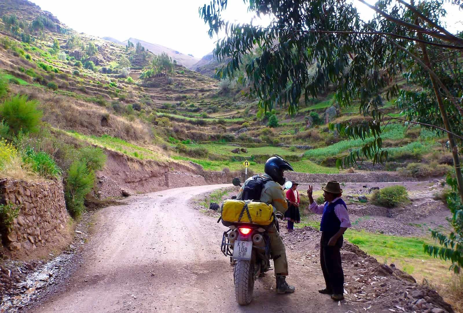 Peru motorreis