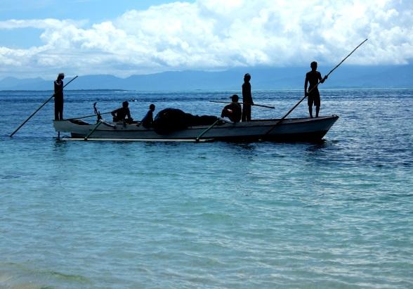 Vissersboot Oost gili's