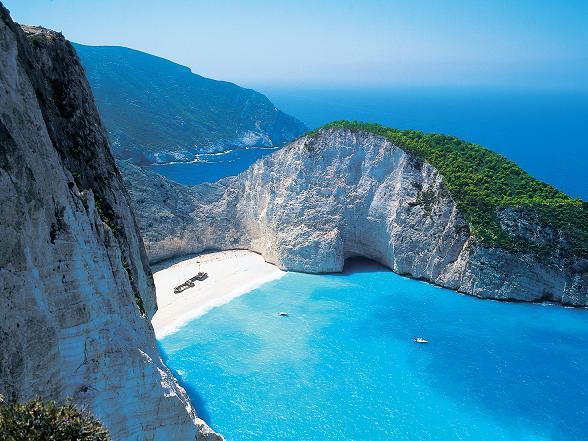 Het Griekse eiland Zakynthos