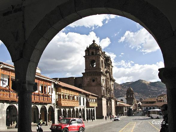 cusco de oude inca hoofdstad