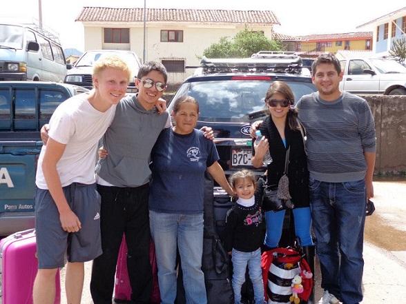 Max combineerde Spaans leren met vrijwilligerswerk in Peru