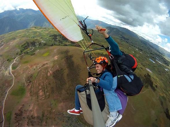 paragliden Peru