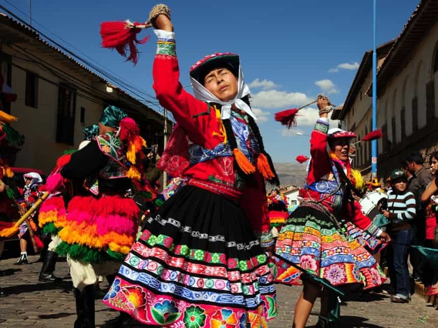 Festival in Cusco