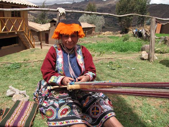 Top 10 Peru Poncho weven, Peru