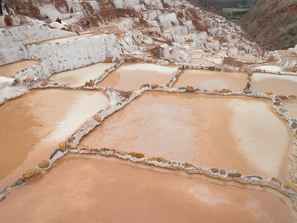 zoutpannen bij Moray