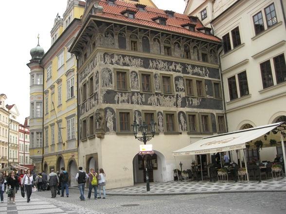Oude Stadsplein, Praag