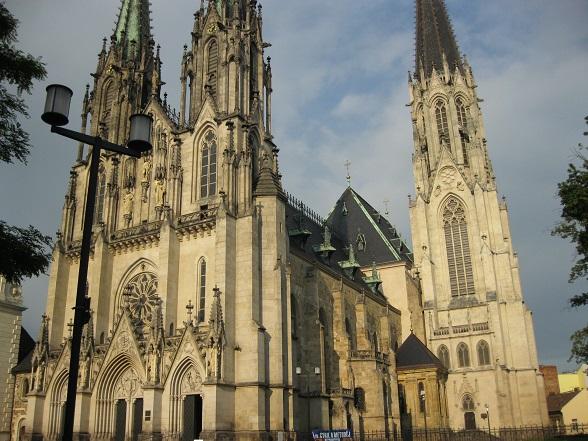 St. Wenceslas Cathedral, Olomouc, Tsjechië